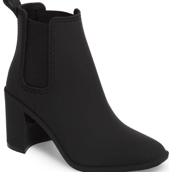 634f37dd845 Jeffrey Campbell Shoes - Jeffrey Campbell Hurricane Black Rain Boot 8 used